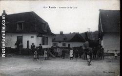 Cartes postales place de la gare anvin 62134  1