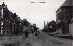 Cartes postales photos grande rue anvin 4