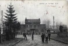 Cartes postales photos la gare anvin 62134 7