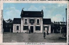 Cartes postales photos la gare anvin 62134 8