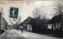 Cartes postales photos la rue d hesdin cote sud anvin 10