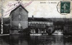 Cartes postales photos le moulin anvin12