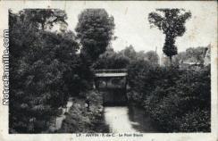 Cartes postales photos le pont blanc anvin 14