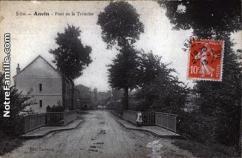 Cartes postales photos pont de la ternoise anvin 17
