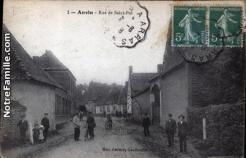 Cartes postales photos rue de saint pol anvin 62134 19
