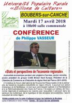 Conférence Philippe Vasseur